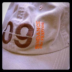 🧢Sundance Film festival 09 hat adjustable Tan